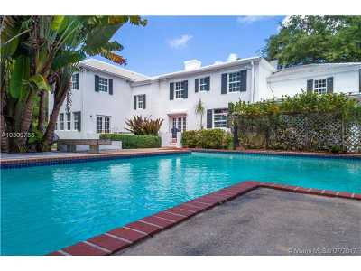Coconut Grove Single Family Home For Sale: 3599 N Moorings Wy