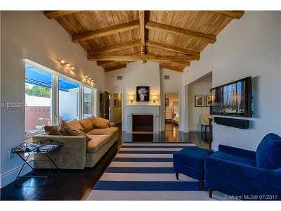 Miami Beach Single Family Home For Sale: 320 W 46th Street