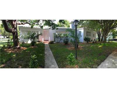 Miami Single Family Home Active-Available: 107 Northeast 91st St
