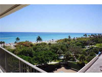 Hollywood Condo For Sale: 1201 S Ocean Dr #701N