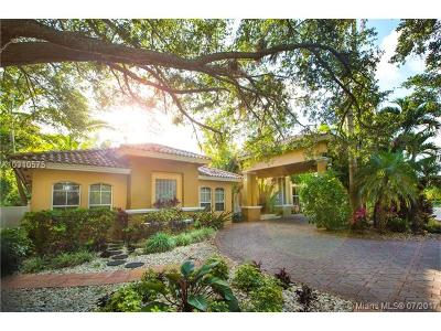 South Miami Single Family Home Active-Available: 6550 Southwest 67th Ave
