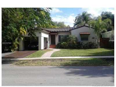 Coconut Grove Single Family Home For Sale: 2701 SW 17