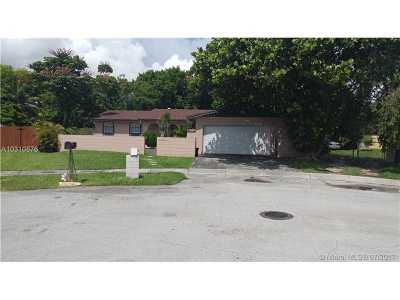 Single Family Home For Sale: 13621 SW 78th St