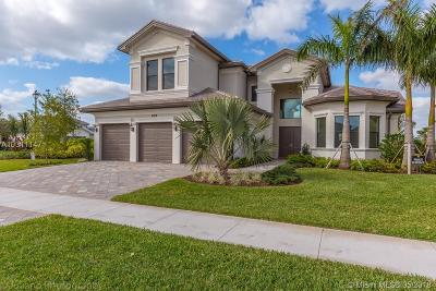 Delray Beach Single Family Home For Sale: 9328 Tropez Ln