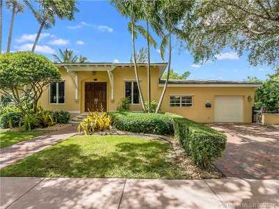 Coral Gables Single Family Home Active-Available: 1400 Sorolla Ave