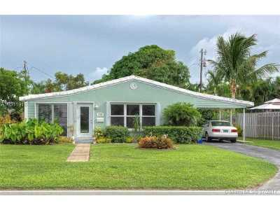 Fort Lauderdale Single Family Home Active-Available: 1784 Northeast 18th St