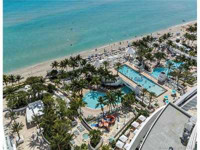 Hollywood Condo For Sale: 3535 S Ocean Dr #2302