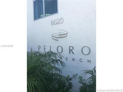Miami Beach Condo For Sale: 6610 Indian Creek Dr. #606
