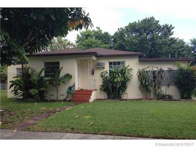 West Miami Single Family Home For Sale: 6541 SW 18th St