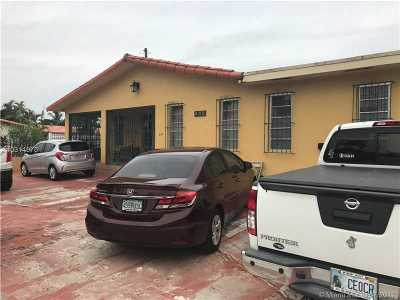 Hialeah Single Family Home Active-Available: 445 Southeast 4th Ave