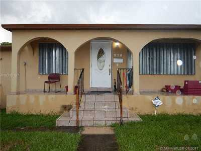 Hialeah Single Family Home Active-Available: 275 West 63rd St