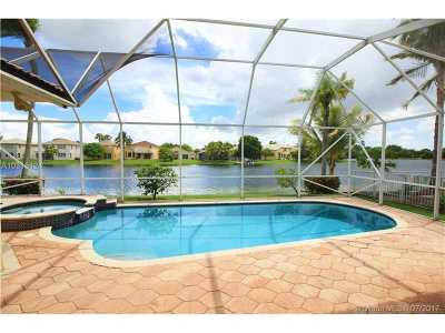 Miramar Single Family Home Active-Available: 17405 Southwest 35th St