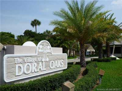 Doral Condo Active-Available: 9860 Northwest 52nd Ter
