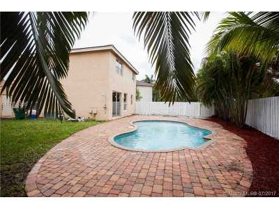 Miramar Single Family Home Active-Available: 3166 Southwest 176th Ter