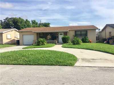 Miramar Single Family Home Active-Available: 7801 Ramona St