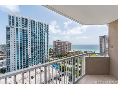 Hallandale Condo Active-Available: 1965 South Ocean Dr #16D