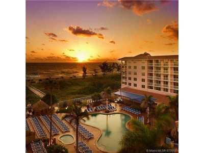 Palm Beach Shores Condo For Sale: 181 Ocean Ave #648