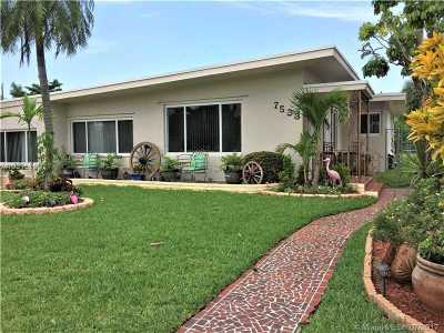 North Bay Village Single Family Home For Sale: 7533 Hispanola Ave