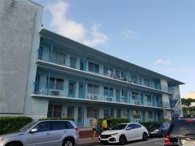 Miami Beach Condo For Sale: 1004 Pennsylvania Ave #21