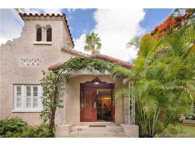 Coral Gables Single Family Home For Sale: 500 Majorca Ave