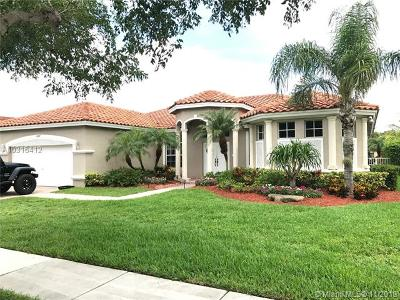 Pembroke Pines Single Family Home For Sale: 16447 NW 14th St