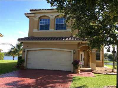 Miramar Single Family Home Active-Available: 5172 Southwest 137th Ter