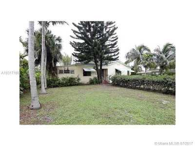 Miami Shores Single Family Home For Sale: 19 NW 109th St