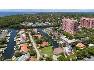 Coral Gables Single Family Home Active-Available: Sunrise Harbour