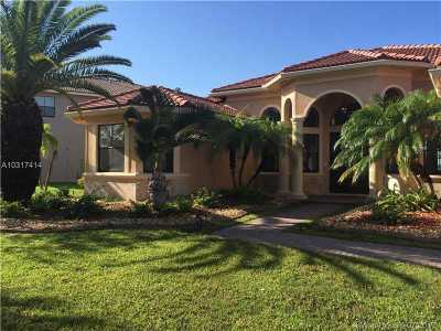 Miramar Single Family Home Active-Available: 18530 Southwest 17 Court