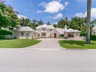 Miami Beach Single Family Home For Sale: 2535 Sunset Dr