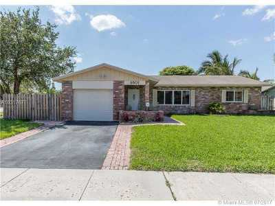 Fort Lauderdale Single Family Home Active-Available: 6801 Northwest 28 Te