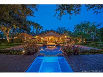 Pinecrest Single Family Home Active-Available: 13160 Old Cutler Rd