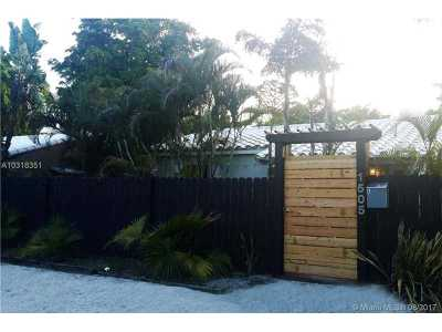 Fort Lauderdale Single Family Home Active-Available: 1505 Northeast 2nd Ave