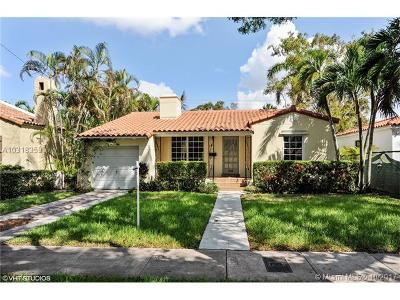 Coral Gables Single Family Home Active-Available: 509 Alcazar Ave