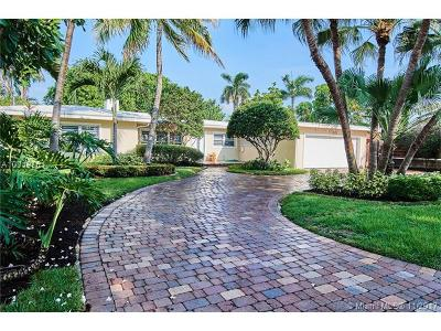 Fort Lauderdale Single Family Home Active-Available: 1223 Seminole Dr