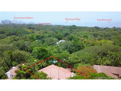 Coconut Grove Single Family Home Active-Available: 3835 Park Ave