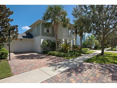 Jupiter Single Family Home For Sale: 1771 W Community Drive