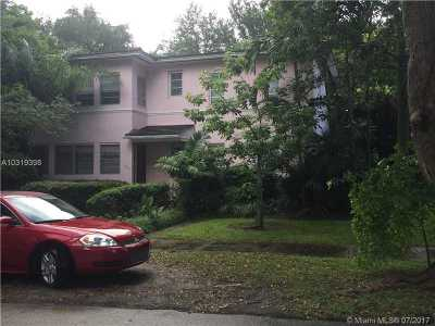 Coral Gables Multi Family Home Active-Available: 3912 Segovia St