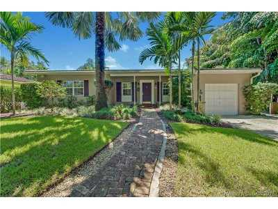 Coral Gables Single Family Home Active-Available: 444 Marmore Ave
