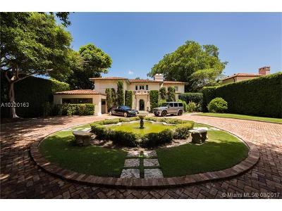 Miami, Miami Beach Single Family Home Active-Available: 3681 Flamingo Dr