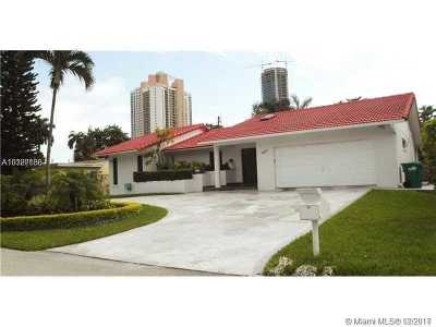 Sunny Isles Single Family Home For Sale: 230 191 Ter