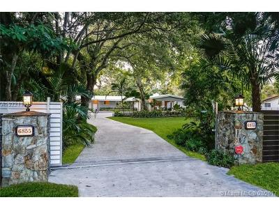 Pinecrest Single Family Home Active-Available: 6855 Southwest 112th St