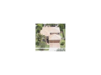 Pembroke Pines Single Family Home Active-Available: 13723 Northwest 15th St
