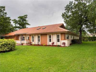 Tamarac Single Family Home Active-Available: 8620 Banyan Ct