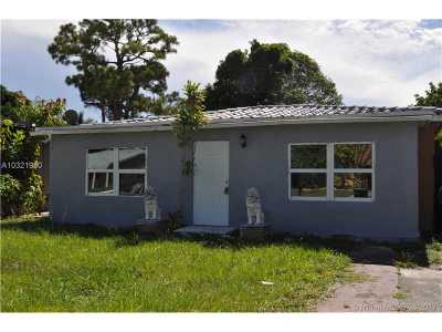 Fort Lauderdale Single Family Home Active-Available: 1433 Northwest 3rd Ave