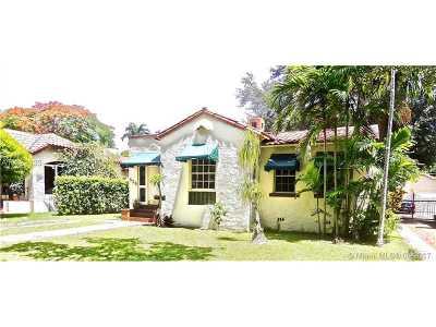 Coral Gables Single Family Home For Sale: 825 Obispo Ave