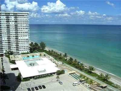 Hallandale Condo Active-Available: 2030 South Ocean Dr #1822