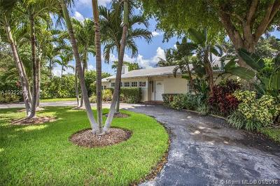 Miami Shores Single Family Home Active-Available: 10675 Northeast 11th Ct