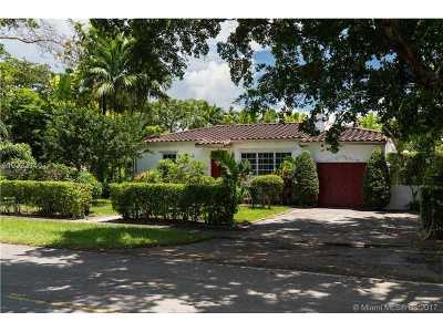 Coral Gables Single Family Home Active-Available: 706 Mendoza Ave