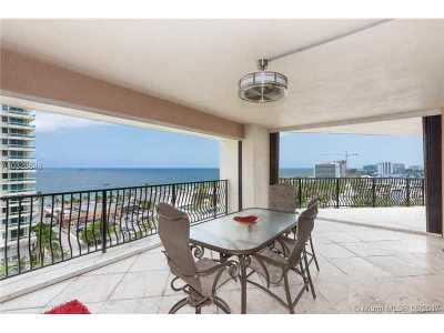 Fort Lauderdale Condo Active-Available: 100 South Birch Rd #1201A